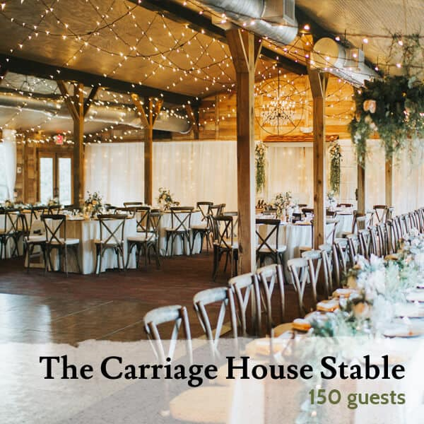 The Carriage House Stable, Rustic Elegance.
