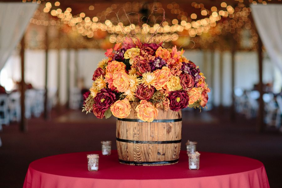 Country fall wedding at cross creek ranch fall and rustic go together so well loving the entrance of the stable junglespirit Gallery