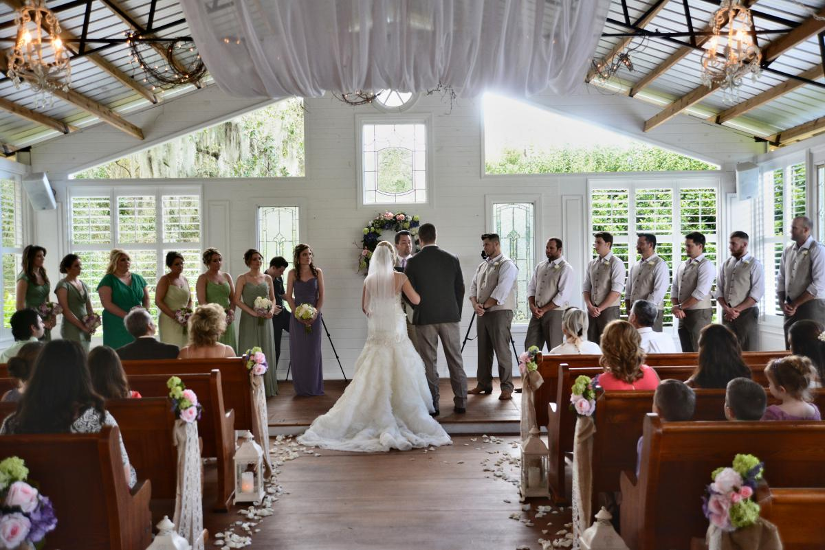 Inside The Wedding Chapel