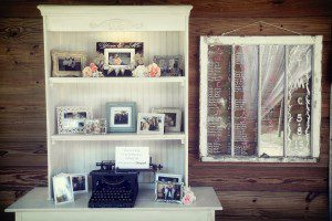 Creative way to display couple and/or family photos
