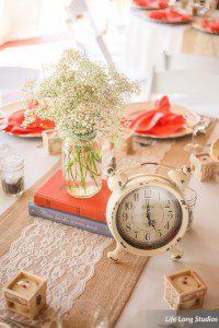 Vibrant colors with Rustic and Vintage Decor