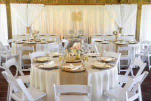 Elegant and Romantic Decor for a Rustic Wedding Reception