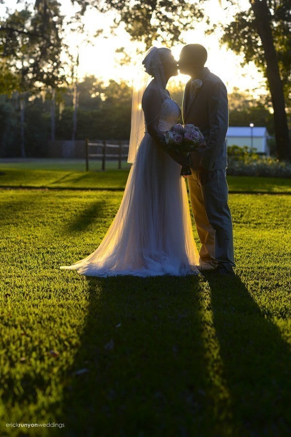 Sara and Andrew's Romantic Outdoor Wedding