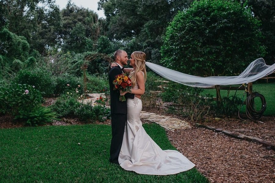 Amanda and Tyler's Intimate Outdoor Wedding