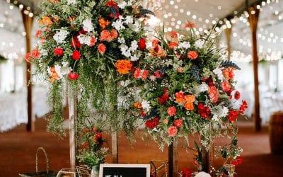 Courtney + Bryan's Boho-Chic Wedding