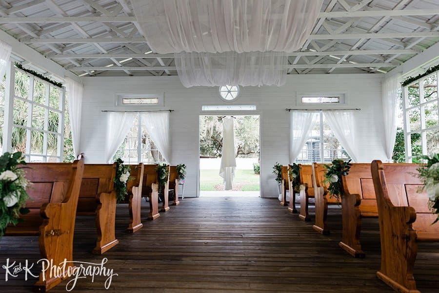 Ashley + Mac's Modern Rustic Chapel Wedding