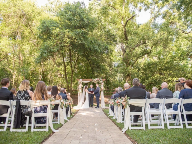 The French Country Inn is a rustic elegant wedding venue, part of Cross Creek Ranch