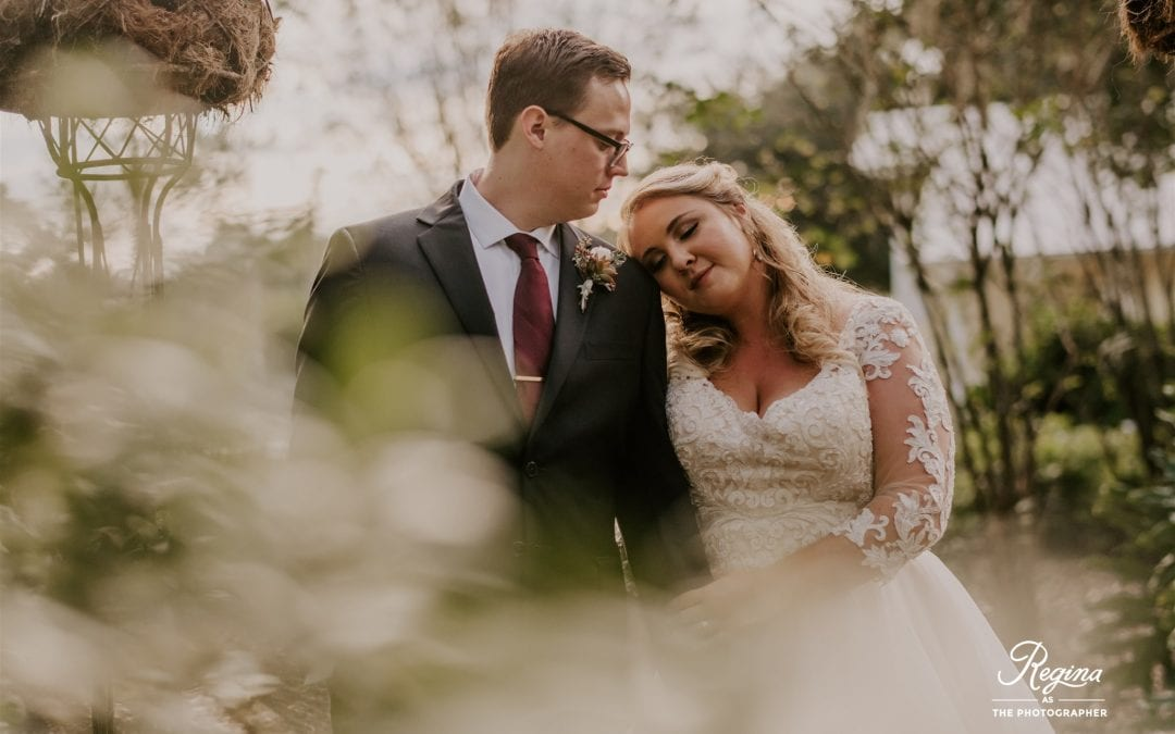 Kalee & Jacob's Organic Fall Wedding
