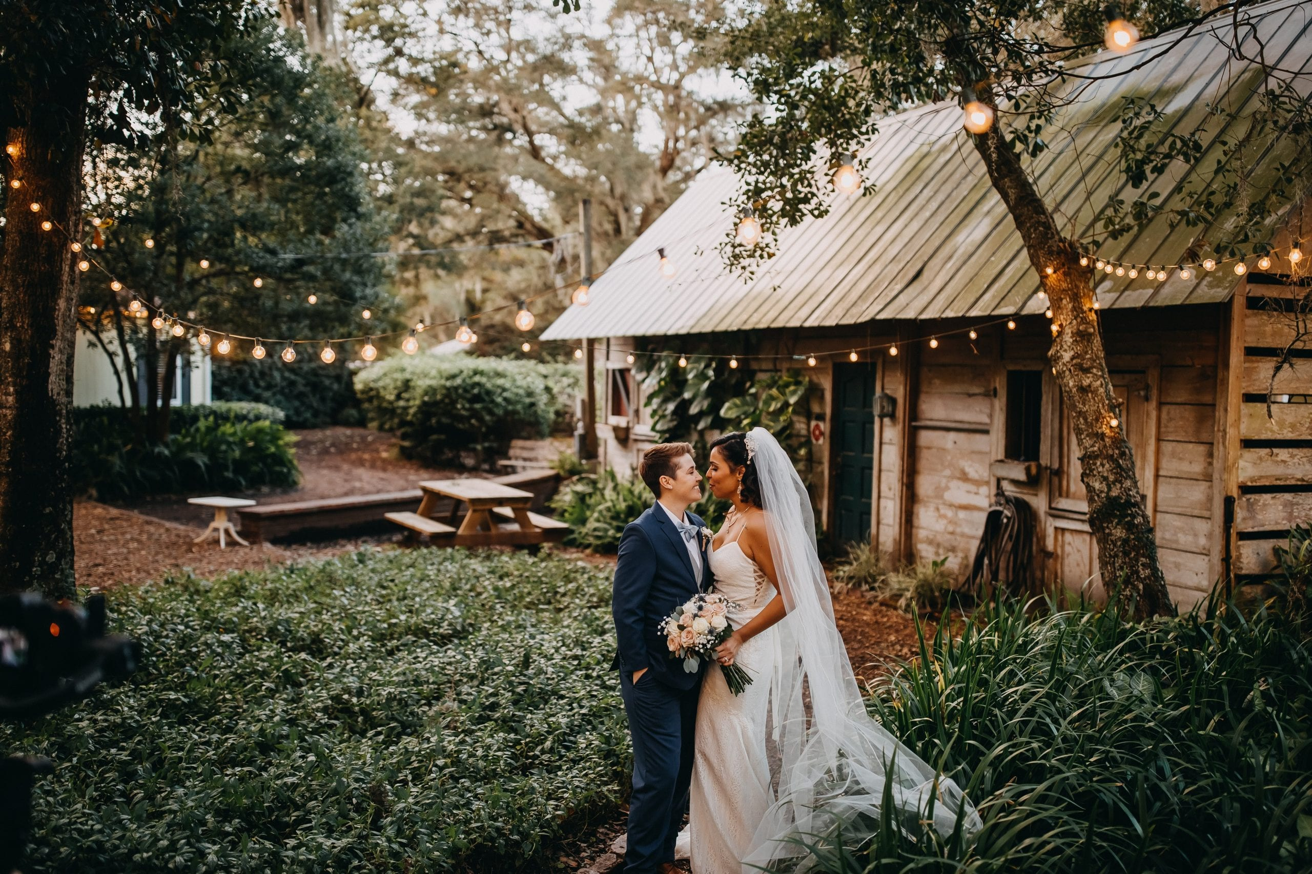 Stephanie + Sheyla's Rustic Greenery Filled Wedding