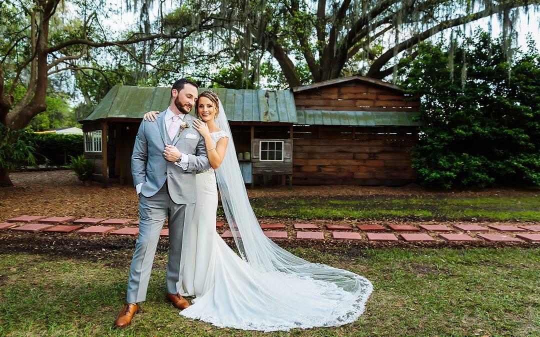 Andreina and John's whimsical and enchanting wedding