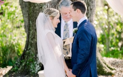 Pam + Kevin's Ultra Romantic Wedding Day