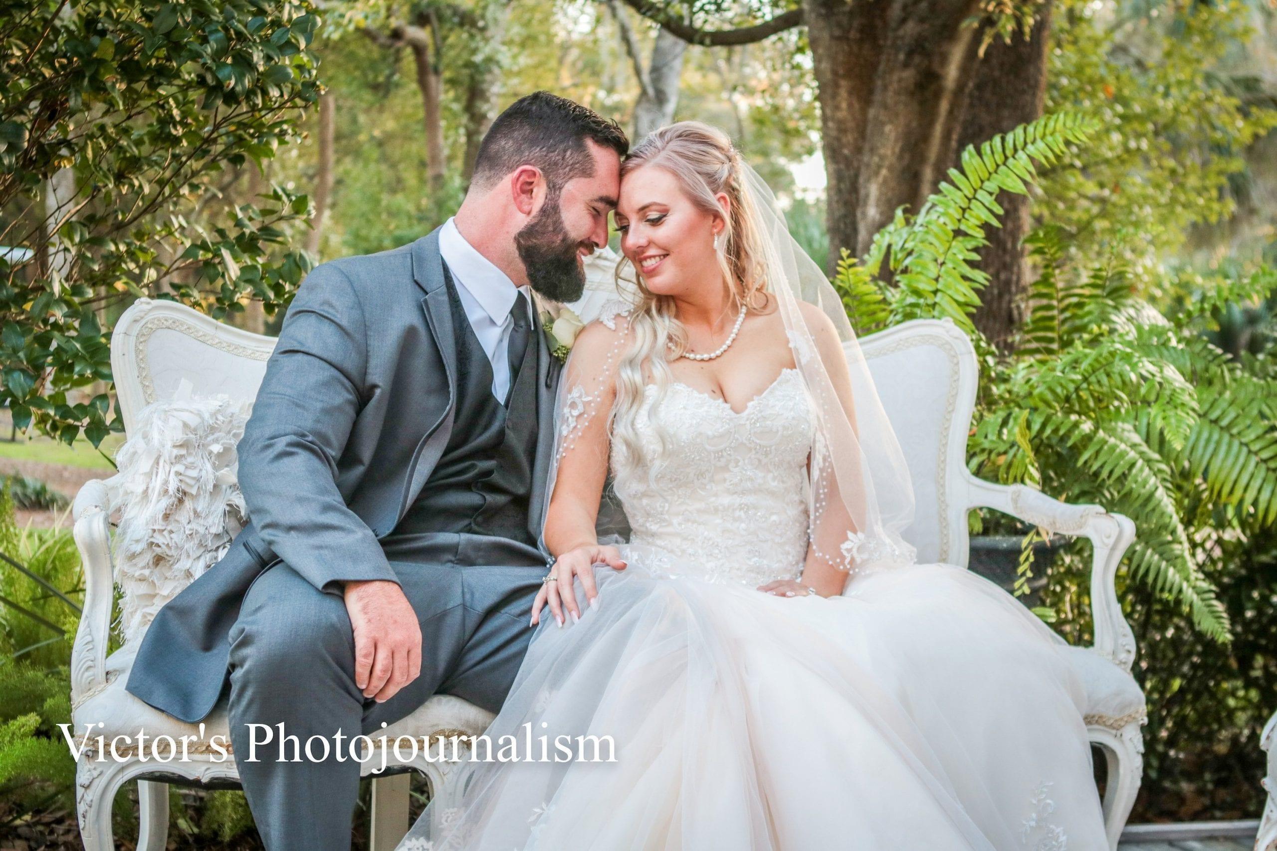 Jenna + Jeremy's Vintage Rose Filled Wedding