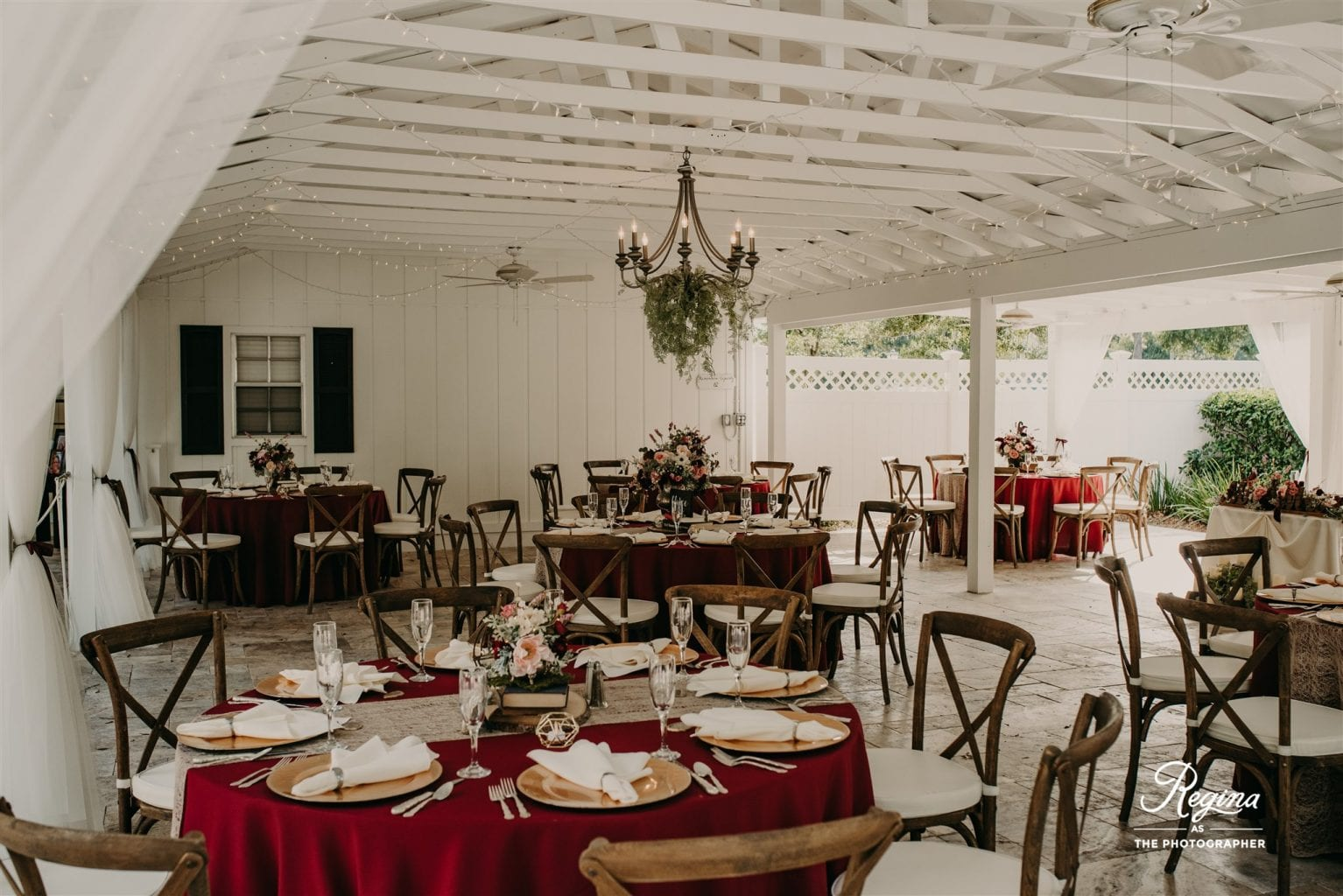 Autumn wedding design at the French Country Inn