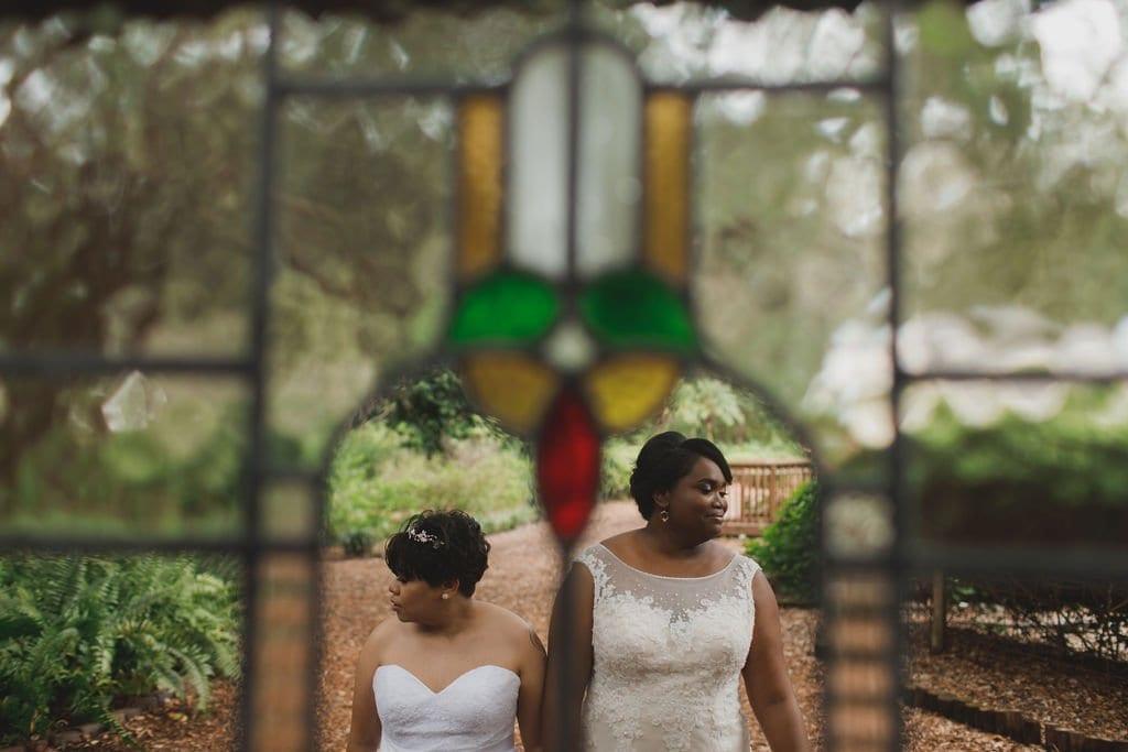 Tori & Lindsay's Vintage Book Themed Wedding