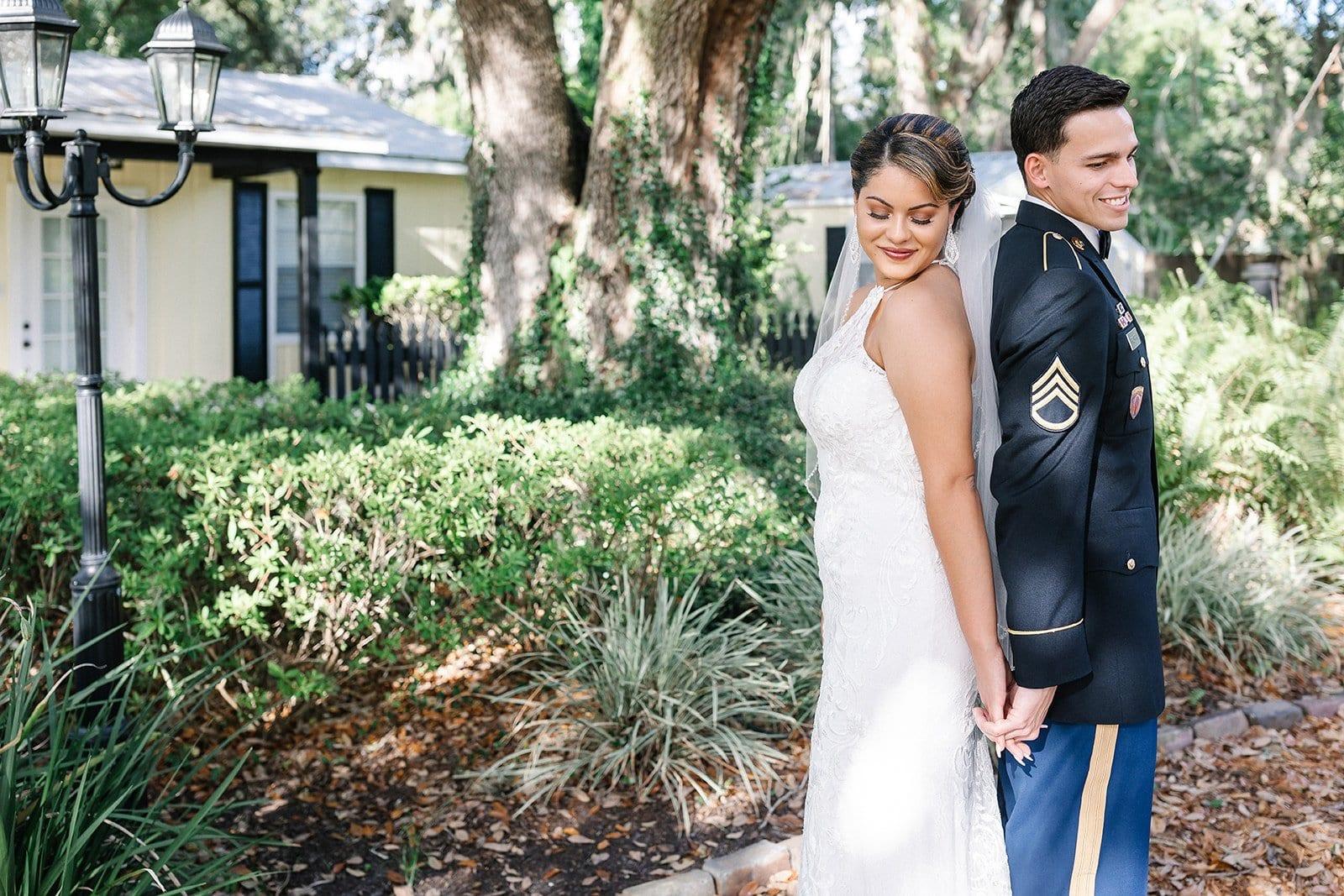 Ashley + Jonanthony's Modern Garden Wedding