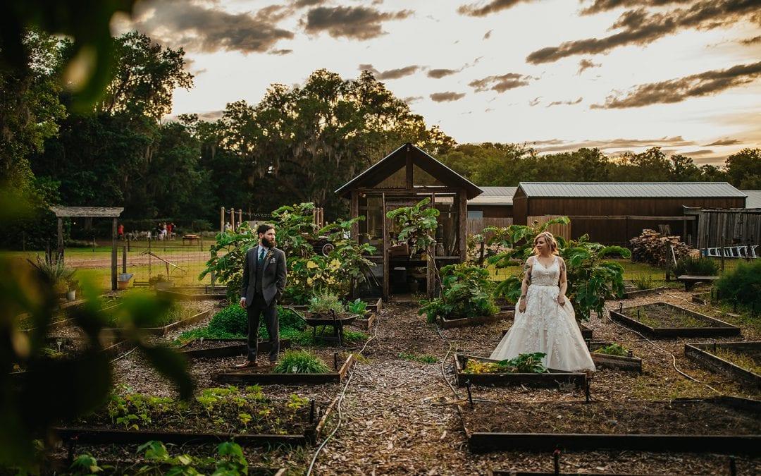 Shanna + Chris's Whimsical Forest Wedding
