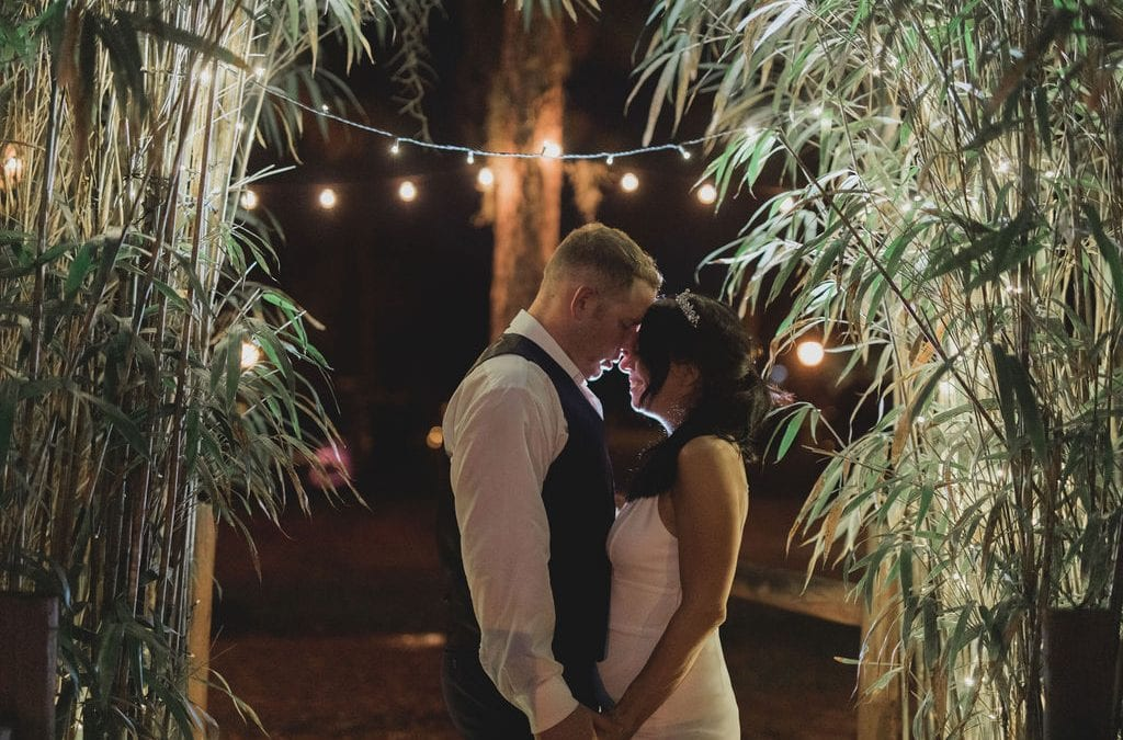 Jennifer + Chad's Intimate Glam Wedding