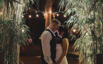 Jennifer + Chad's Intimate Glam Wedding