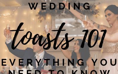 Wedding Toast 101