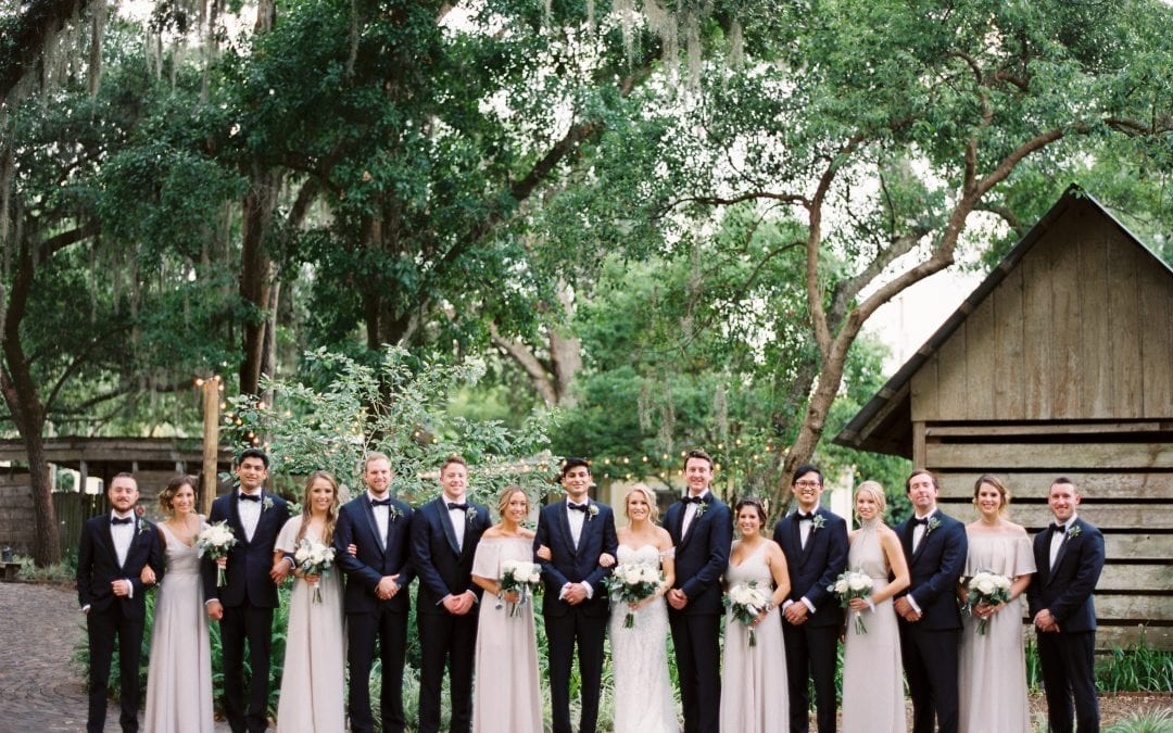 Krista + Ricky's Modern Florida Ranch Wedding