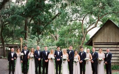 Krista + Ricky's Modern Florida Ranch Wedding