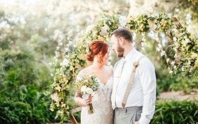 Amanda + Kyle's Bright Alpaca Wedding