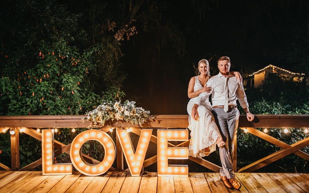 Bri + Nick's Rustic Southern Dream Wedding