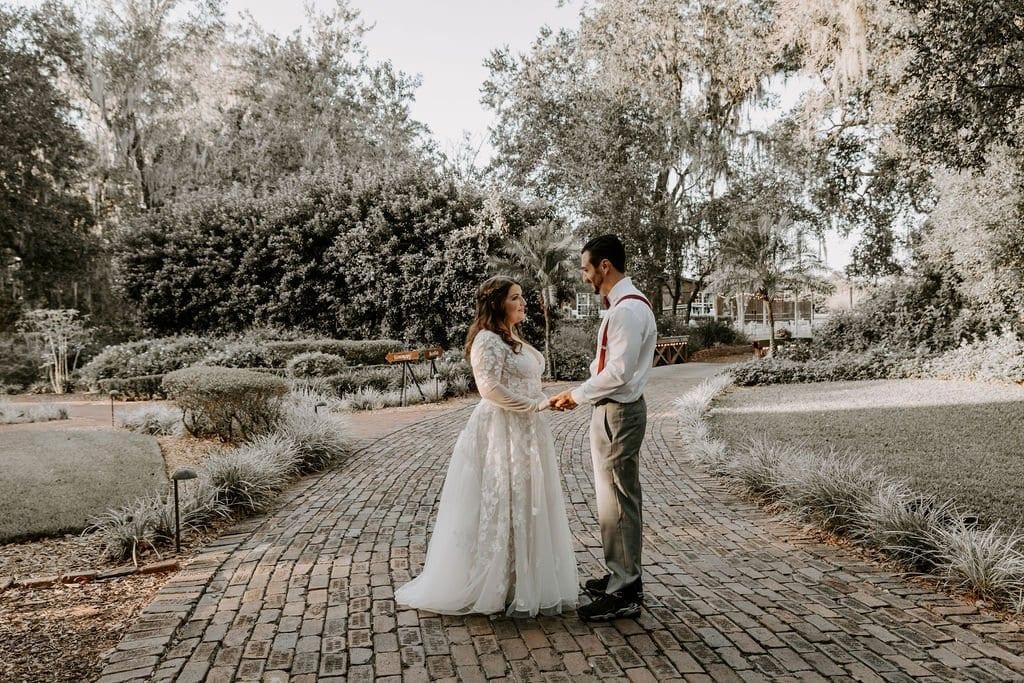 Shayna + Bradley's Woodsy Autumn Wedding