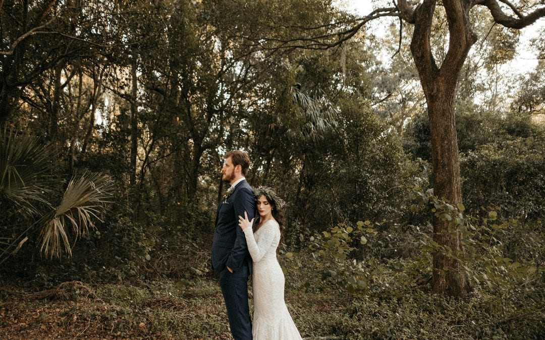 Jeni & Matt's Edgy Modern Wedding