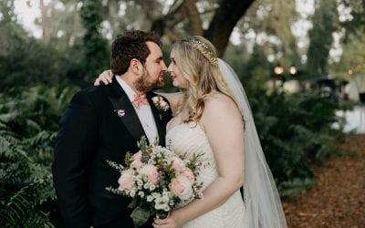 Sarah + Grant's Boho Vintage Wedding