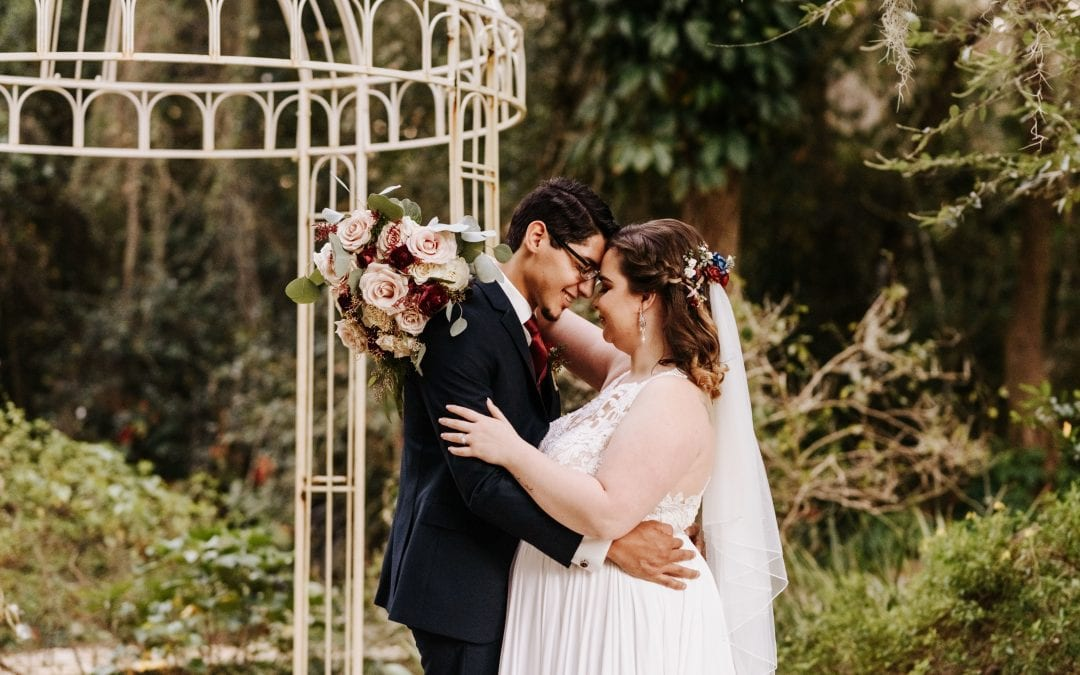 Merrisa + Jeremy's Dreamy Intimate Wedding