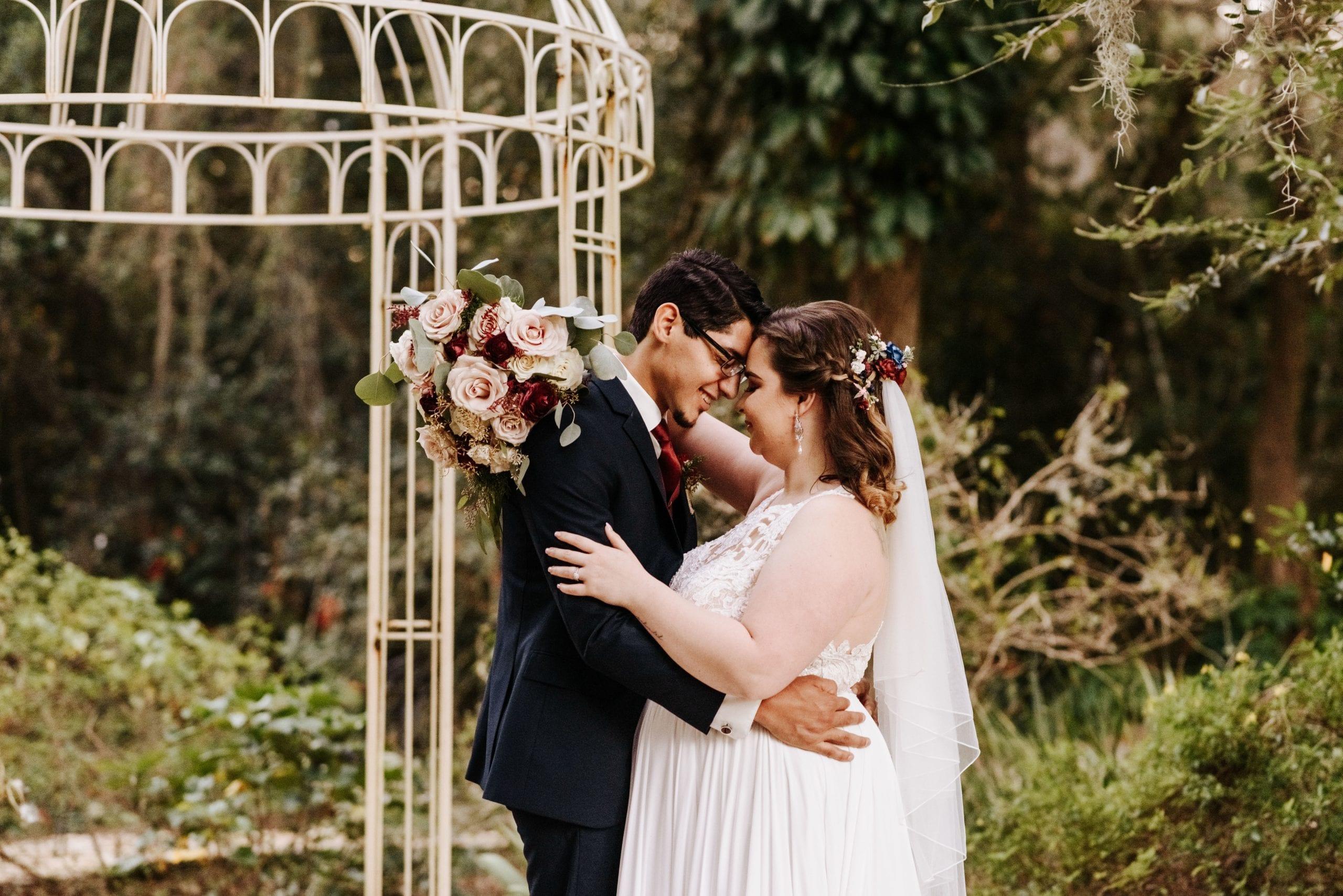 Merrisa + Jeremy's Dreamy Intimate Wedding