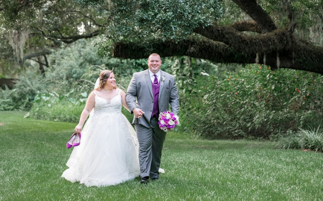 Caitlyn + Christopher's Secret Garden Wedding