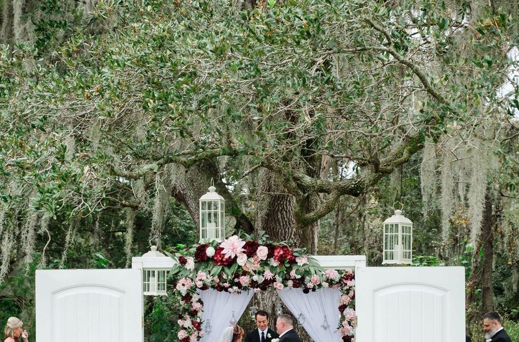 Meg + Grant's Elegant Shabby Chic Wedding