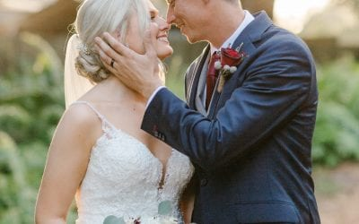 Katie + Jimmy's Classically Beautiful Stable Wedding
