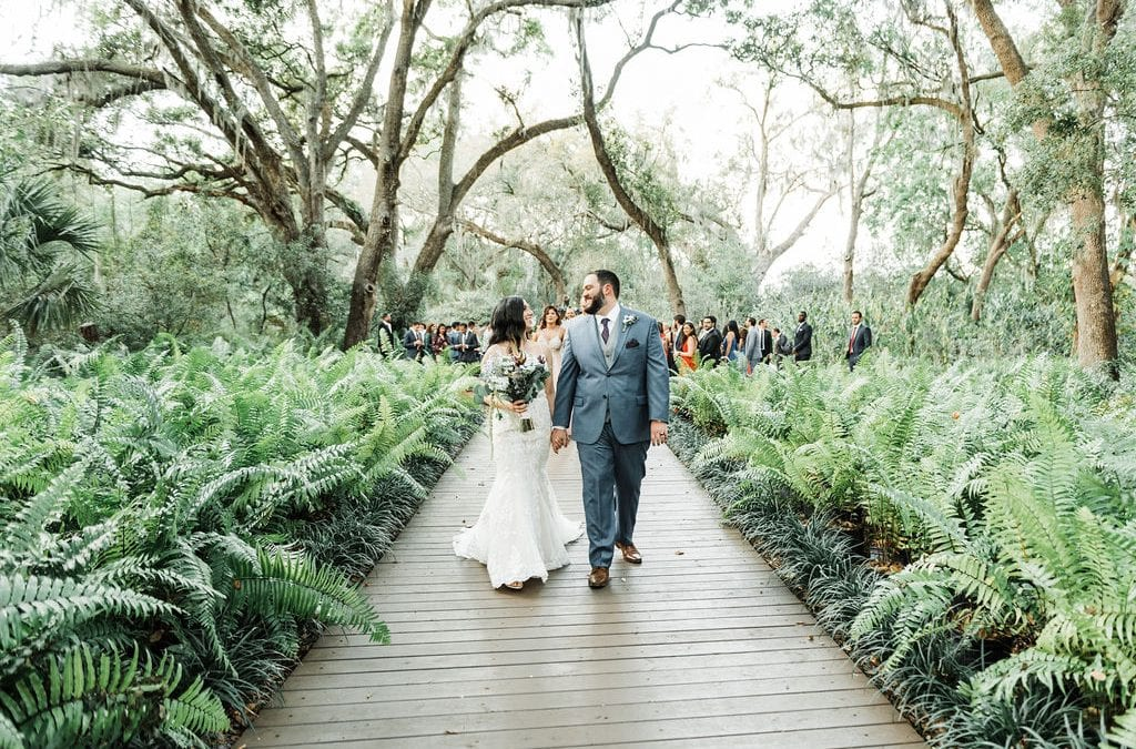 Abneris + Michael's Enchanting Boho-Inspired Wedding