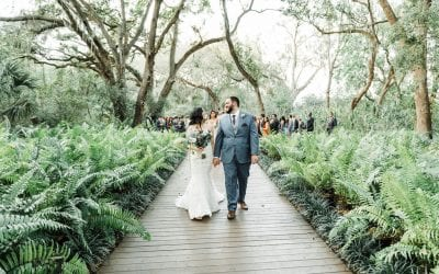 Abneris + Michael's Enchanting Boho-Inspired Wedding