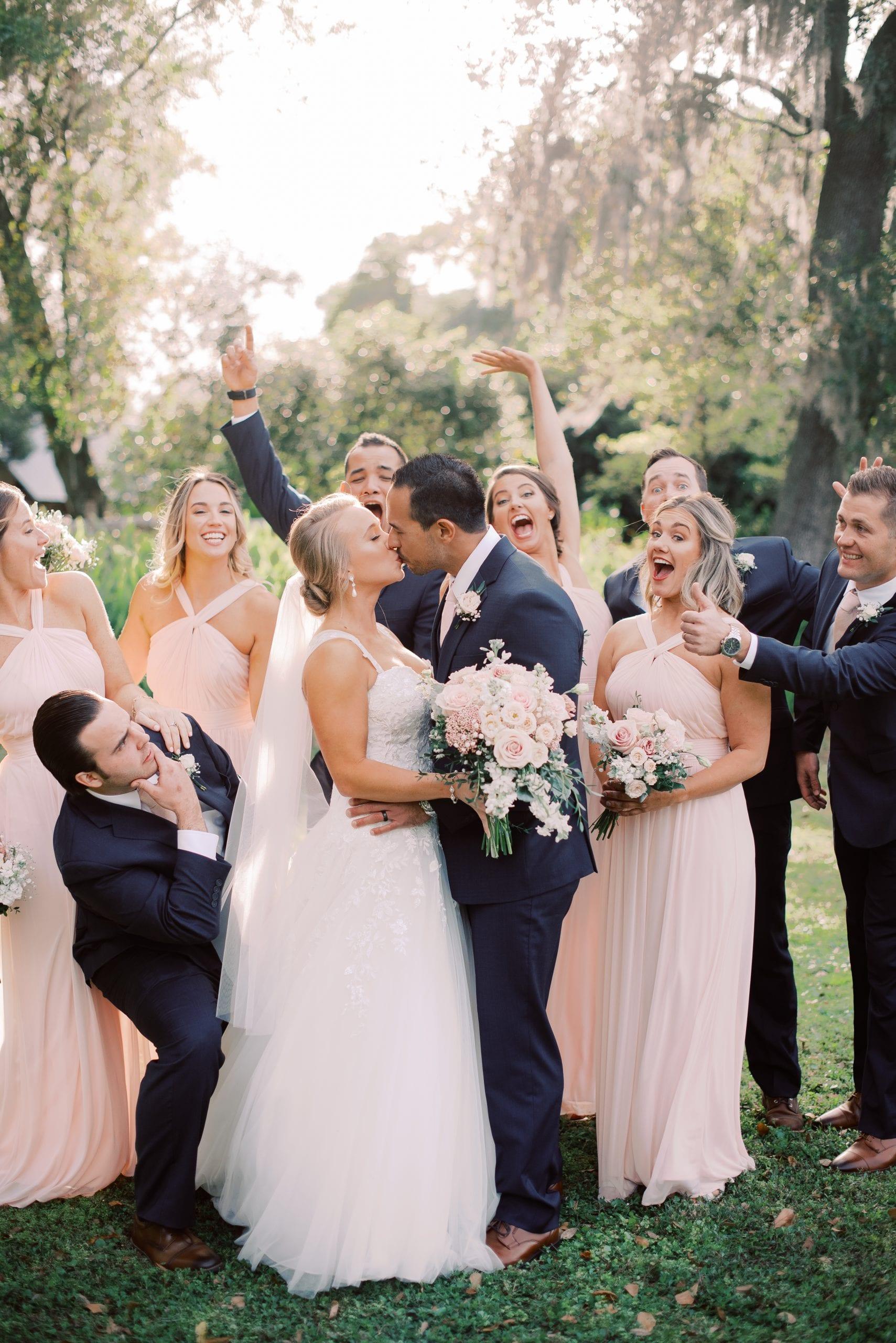 Mikaela + AJ'S Ultra Romantic Barn Wedding