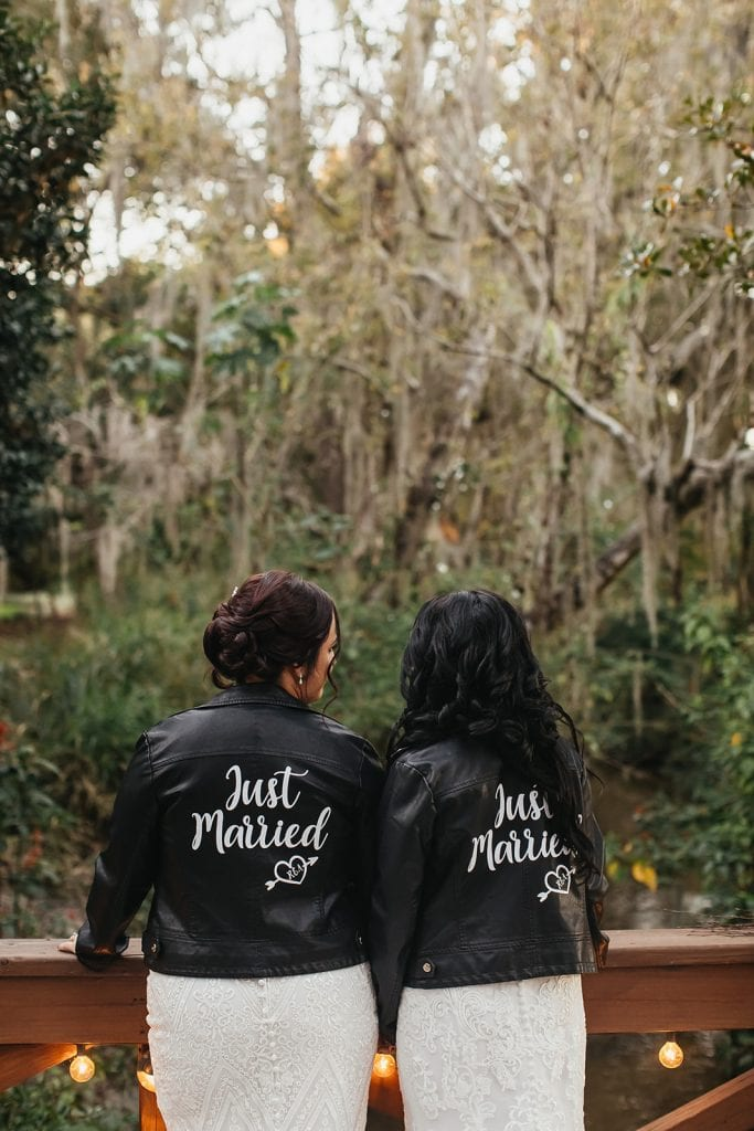 Leather bridal jackets
