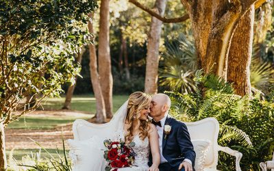 Brittany + Michael's Enchanting Chapel Wedding