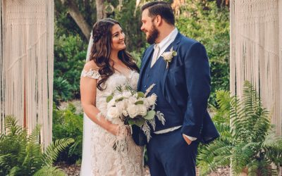 Tiffany + Nick's Boho Garden Micro Wedding