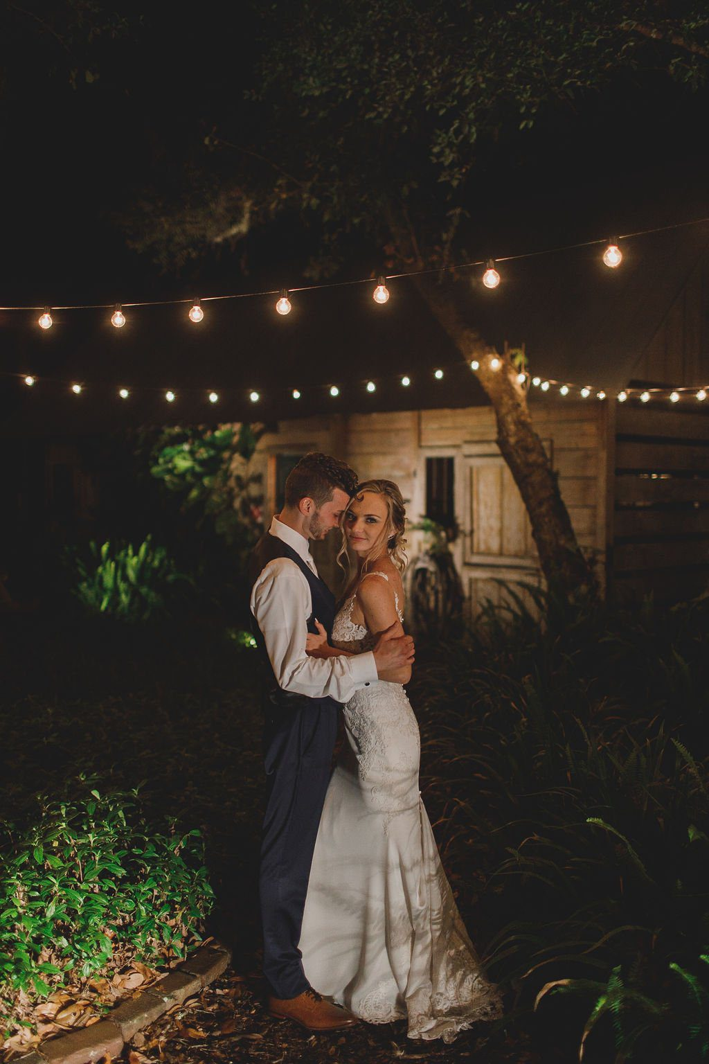 Megan + Nathaniel's Romantic Enchanted Forest Wedding