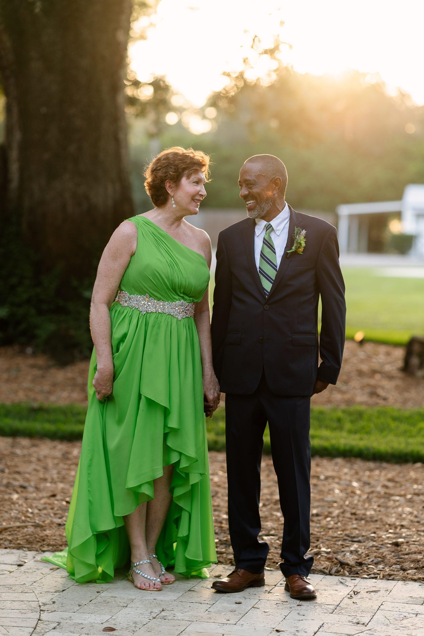 Rita + Daniel's Tropical Inspired Wedding