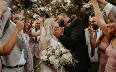 Samantha + Luis's Romantic Barn Wedding