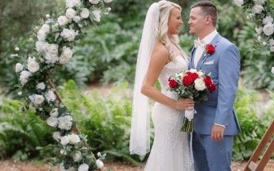 Logan + Gage's Rustic Red Wedding