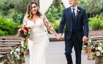 Megan + Todd's Rustic Winter Wedding