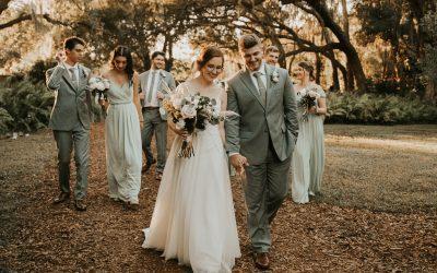 Liz + Connor's Autumn Boho Wedding