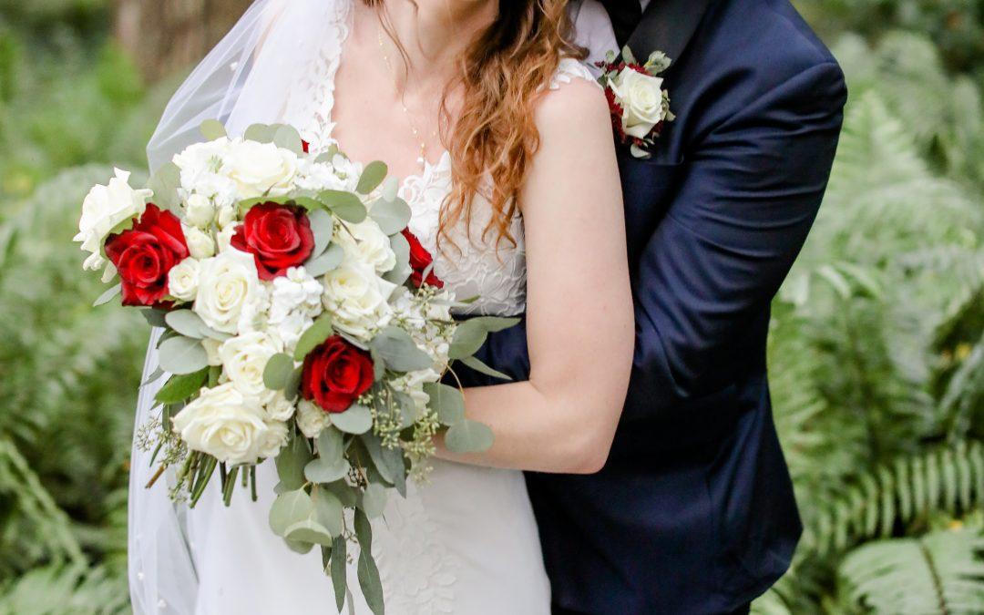 Katherine + Jack's Candlelit Florida Barn Wedding