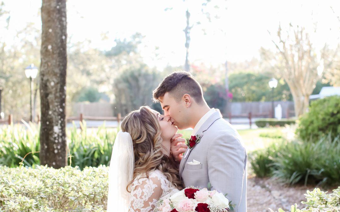 Kayla + Kenneth's Elegant Outdoor Wedding
