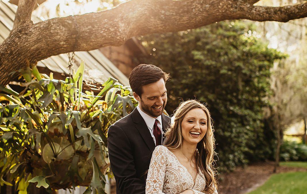 Amber + Ben's Early Spring Barn Wedding